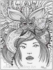 Sabine.  Copyright. Annotated Audrey. 2014 ©