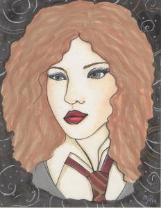 Gryffindor Pride.Copyright. Annotated Audrey. 2014 ©