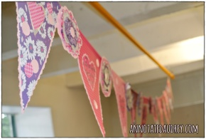 Flower and Pennant Banner by Annotated Audrey