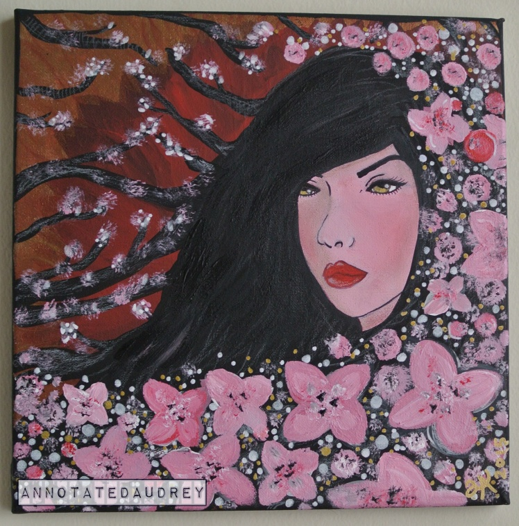 In the Cherry Blossoms by Annotated Audrey