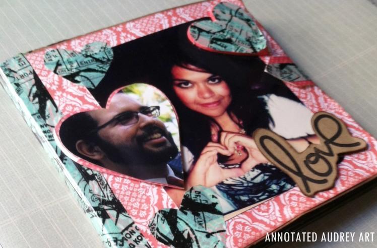 Annotated Audrey's Engagement Album