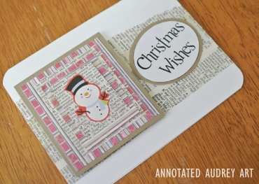 13 Annotated Audrey Christmas Cards