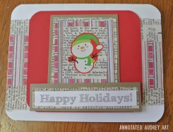 15 Annotated Audrey Christmas Cards