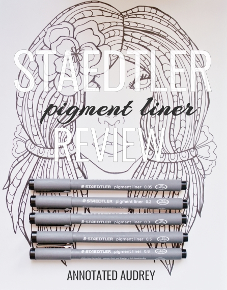 staedtler pigment liner review by annotated audrey 5