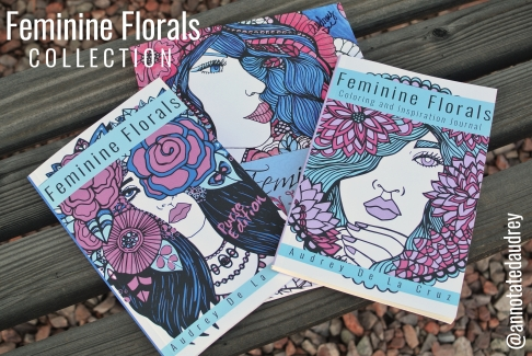 Feminine Florals Coloring Collection