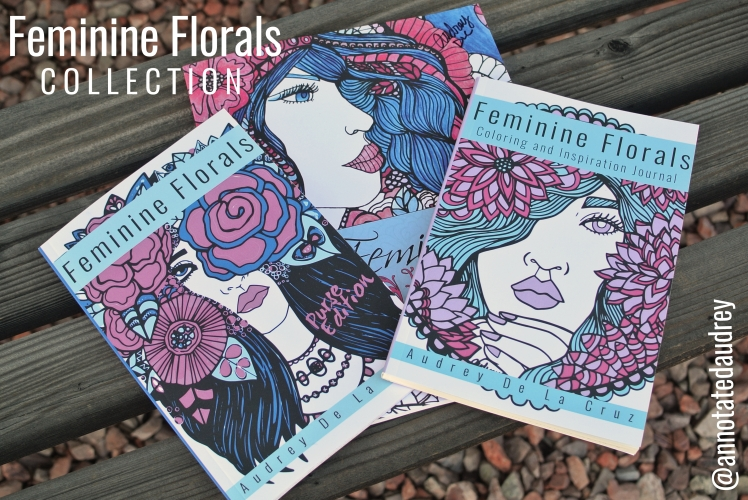 Feminine Florals Coloring Collection_The Books