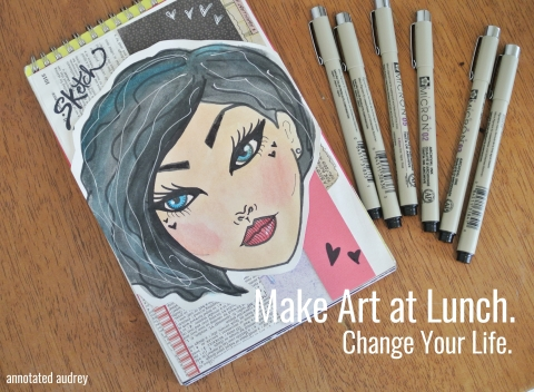 make art at lunch change your life