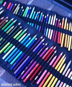 Coloring With Audrey: My Favorite Colored Pencils & Basic ...