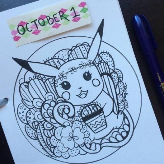 inktober-day-1-pikachu