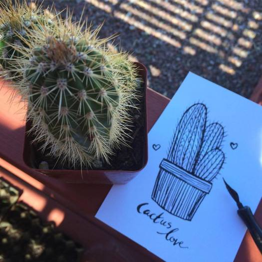 inktober-day-2-cactus-love