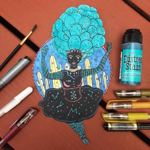inktober-day-3-cactus-dancer