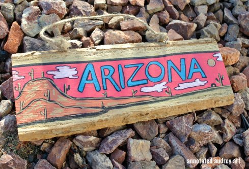 ARIZONA RED BY ANNOTATED AUDREY AKA AUDREY DLC