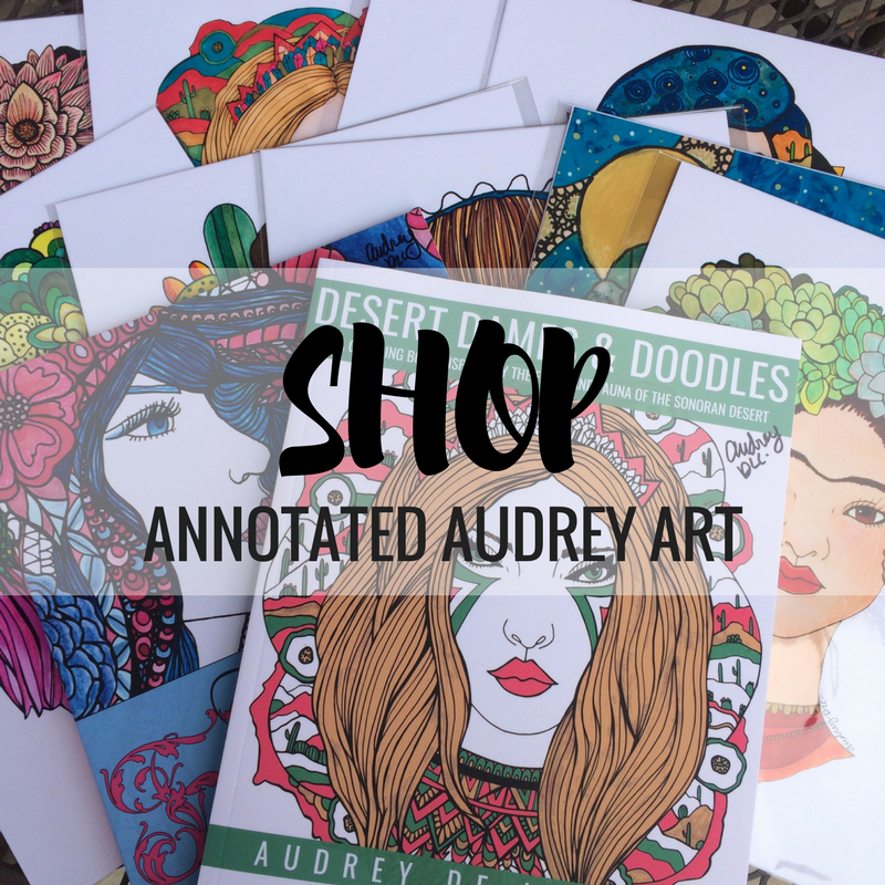 ANNOTATED AUDREY ONLINE STORE