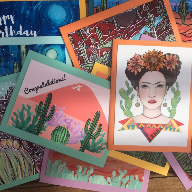 Cards by Audrey De La Cruz | Annotated Audrey Art