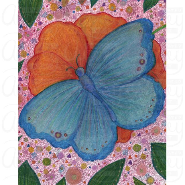 Botanical Butterfly by Audrey De La Cruz