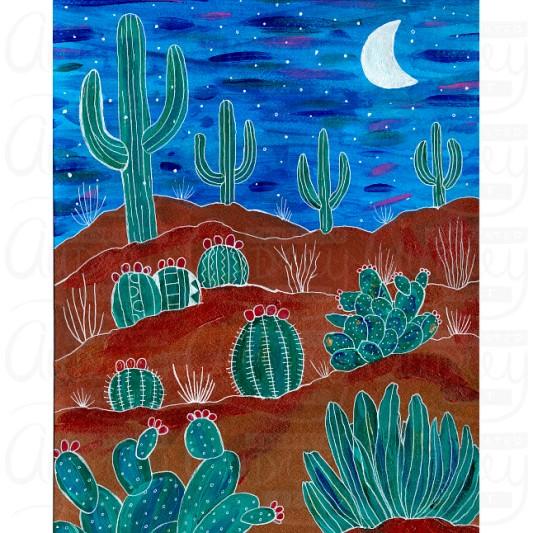 Desert Dreamland by Audrey De La Cruz