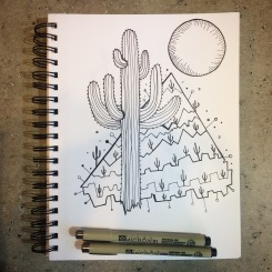 Cactus and CrittersTucson Coloring Book By AudreyDLC (11)