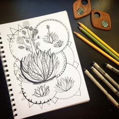 Cactus and CrittersTucson Coloring Book By AudreyDLC (12)