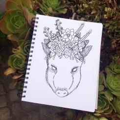 Cactus and CrittersTucson Coloring Book By AudreyDLC (13)