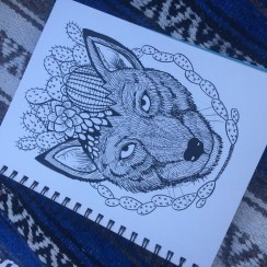 Cactus and CrittersTucson Coloring Book By AudreyDLC (14)