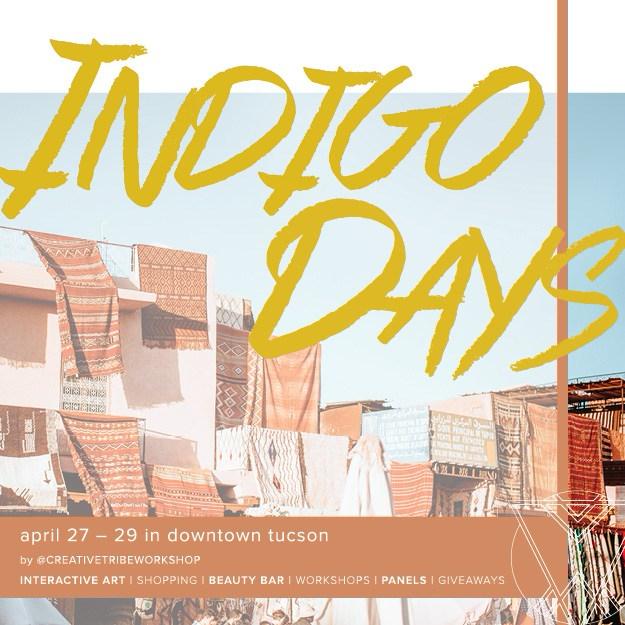 Creative Tribe Workshop Indigo Days Annotated Audrey